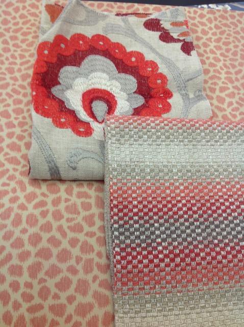 Patchwork Design Fabric