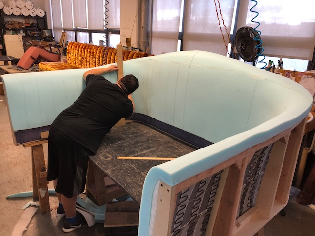 New York Custom Commercial Upholstery Services